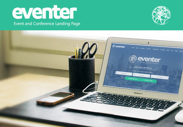 Eventer - Event and Conference Landing Page - 2