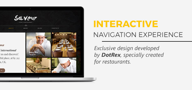 Saveur - Food & Restaurant HTML5 Template - 2