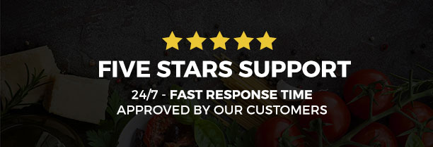 Saveur - Food & Restaurant HTML5 Template - 3