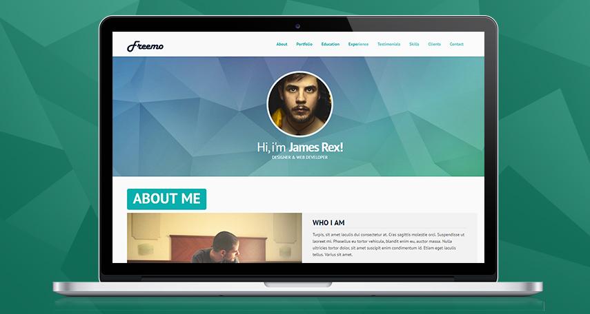 Freemo – Free Bootstrap Resume, CV & Portfolio